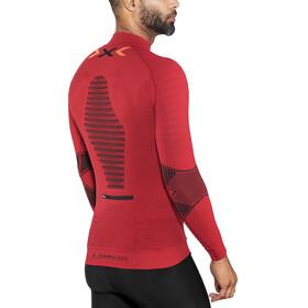 X-Bionic Trail Running Effektor OW LS Zip-Up Shirt Men Paprika/Black